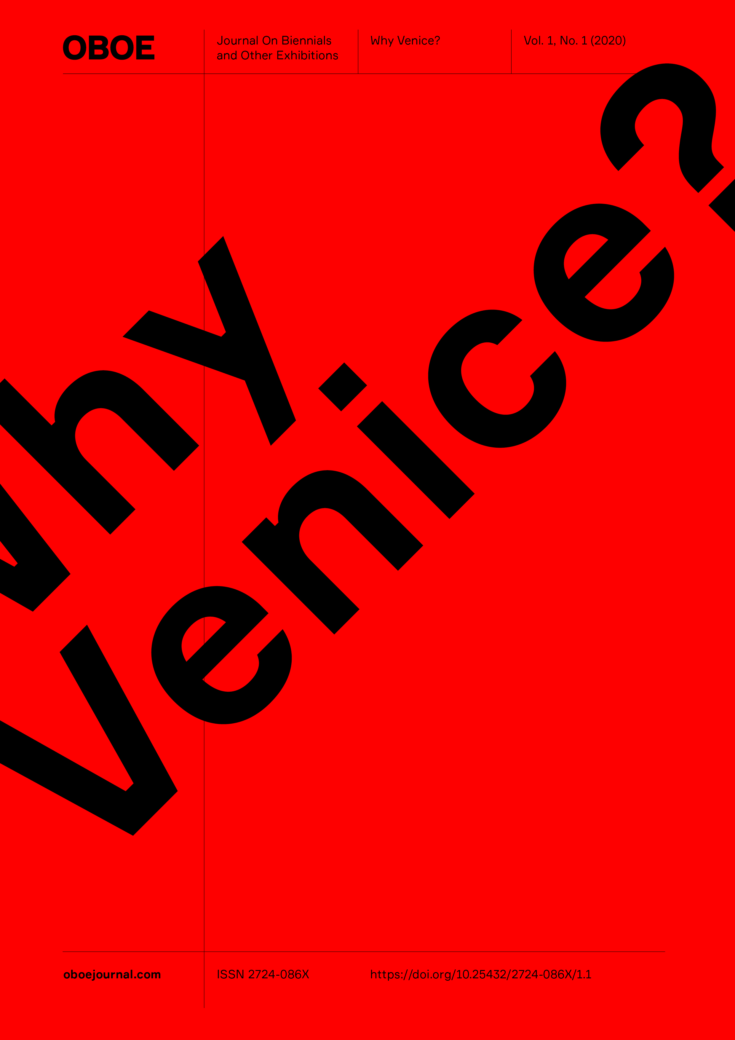 OBOE Journal - Why Venice?